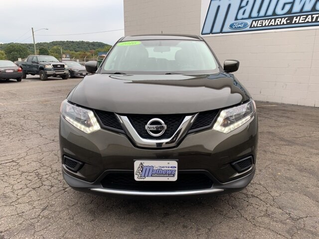 2016 Gray Nissan Rogue AWD 4dr AWD SUV 2.5 L 4-Cylinder Engine