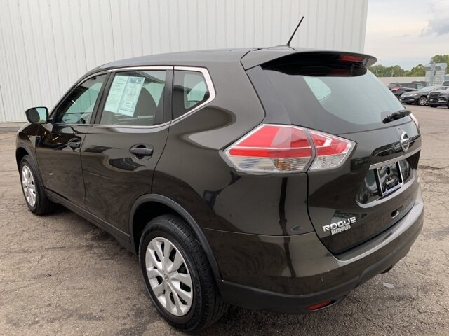 2016 Gray Nissan Rogue AWD 4dr 4 Door SUV Automatic (CVT)