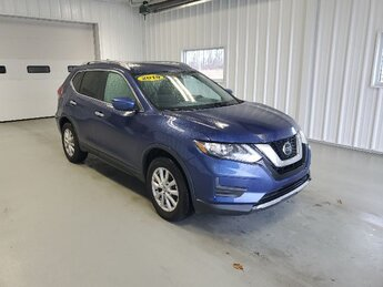 2019 Caspian Blue Metallic Nissan Rogue SV 2.5L DOHC 16-Valve I4 Engine Automatic 4 Door SUV