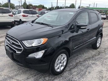 2019 Shadow Black Ford EcoSport SE FWD 4 Door Automatic