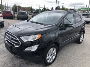 2019 Shadow Black Ford EcoSport SE FWD 4 Door Automatic SUV