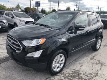 2019 Shadow Black Ford EcoSport SE 4 Door FWD SUV Automatic