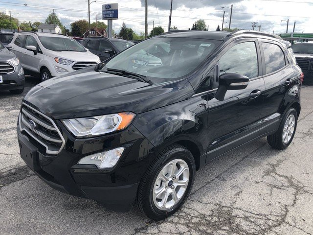2019 Shadow Black Ford EcoSport SE SUV FWD 4 Door