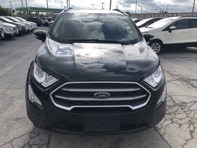 2019 Shadow Black Ford EcoSport SE FWD SUV 4 Door