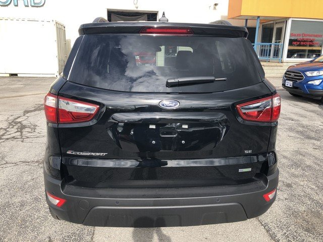 2019 Shadow Black Ford EcoSport SE SUV 4 Door FWD
