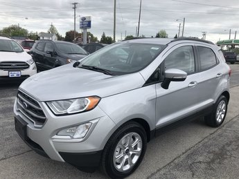 2019 Moondust Silver Metallic Ford EcoSport SE 4 Door Automatic SUV FWD