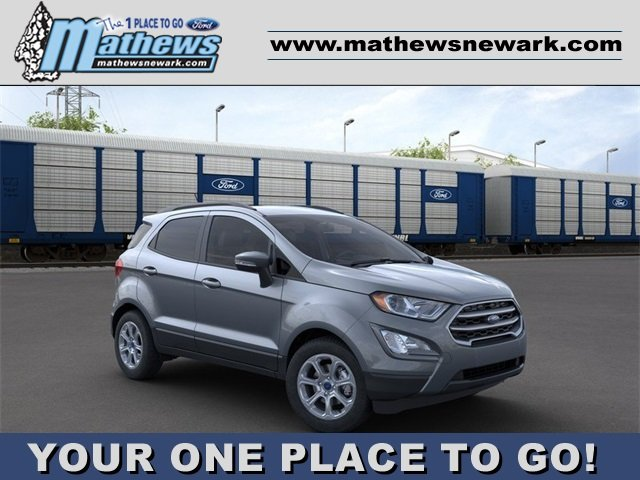 2020 Smoke Metallic Ford EcoSport SE Automatic SUV 1.0 L 3-Cylinder Engine FWD