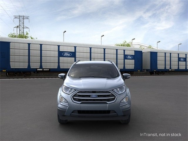 2020 Smoke Metallic Ford EcoSport SE FWD 4 Door Automatic 1.0 L 3-Cylinder Engine SUV