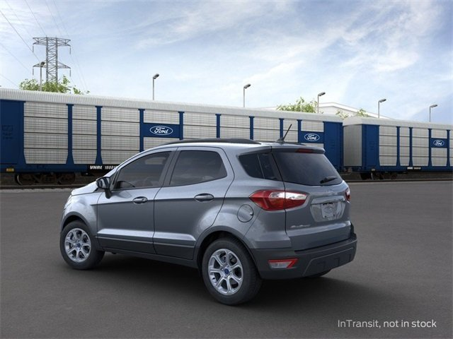 2020 Smoke Metallic Ford EcoSport SE Automatic 4 Door SUV 1.0 L 3-Cylinder Engine FWD