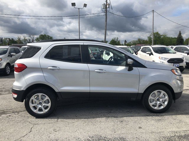 2019 Moondust Silver Metallic Ford EcoSport SE SUV 4 Door FWD