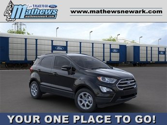 2020 Shadow Black Ford EcoSport SE FWD 1.0 L 3-Cylinder Engine Automatic