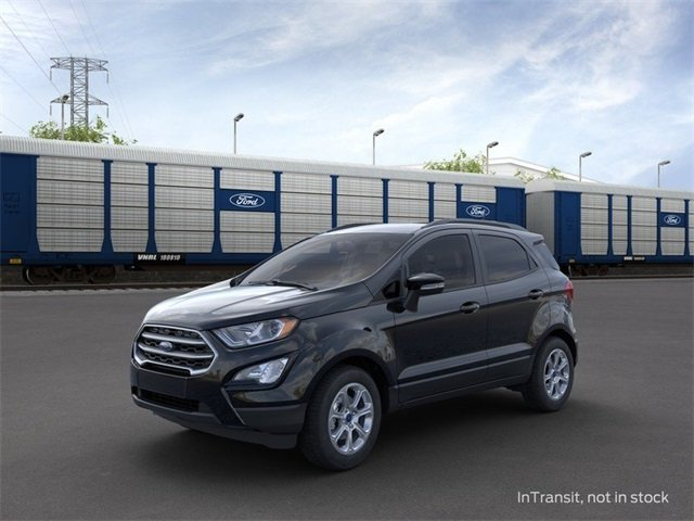 2020 Shadow Black Ford EcoSport SE 4 Door 1.0 L 3-Cylinder Engine SUV