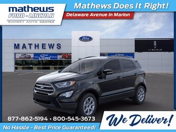 2021 Ford EcoSport SE Automatic 4X4 2.0L I4 Ti-VCT GDI Engine 4 Door SUV