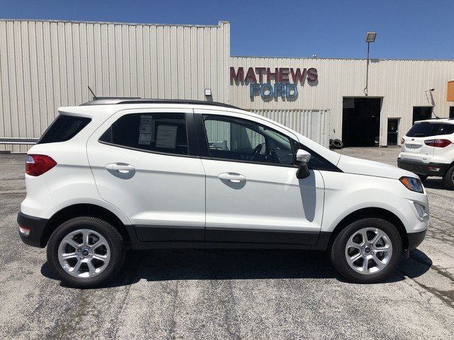 2019 WHITE Ford EcoSport SE Automatic SUV 2.0L 4-Cyl Engine 4X4