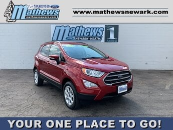 2019 Red Ford EcoSport SE 2.0 L 4-Cylinder Engine Automatic 4 Door