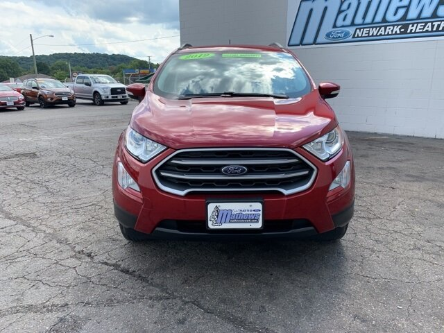 2019 Red Ford EcoSport SE SUV 4 Door AWD