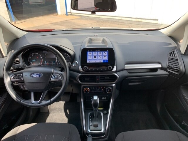 2019 Red Ford EcoSport SE AWD 2.0 L 4-Cylinder Engine SUV