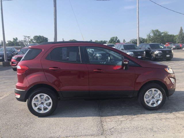 2019 RED Ford EcoSport SE 2.0L 4-Cyl Engine 4X4 SUV