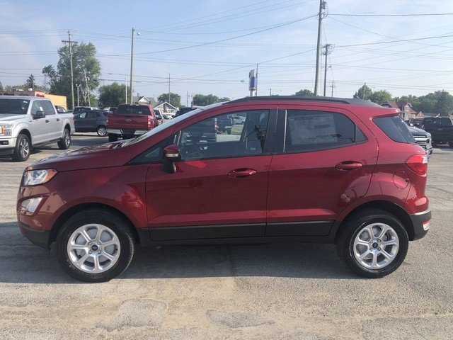 2019 RED Ford EcoSport SE SUV 4 Door 4X4
