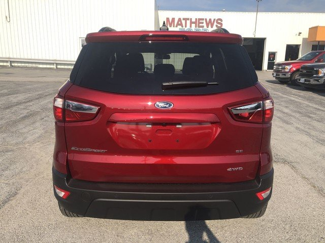 2019 Ford EcoSport SE 4X4 SUV 4 Door 2.0L 4-Cyl Engine