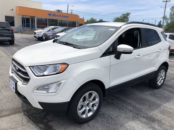 2019 WHITE Ford EcoSport SE SUV 4X4 2.0L 4-Cyl Engine 4 Door