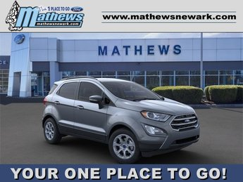 2020 Smoke Metallic Ford EcoSport SE 4 Door 2.0 L 4-Cylinder Engine Automatic SUV
