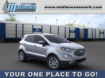 2020 Moondust Silver Metallic Ford EcoSport SE AWD 2.0 L 4-Cylinder Engine 4 Door