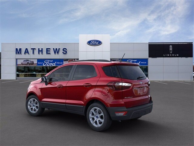 2021 Ford EcoSport SE SUV 2.0L I4 Ti-VCT GDI Engine Automatic 4 Door