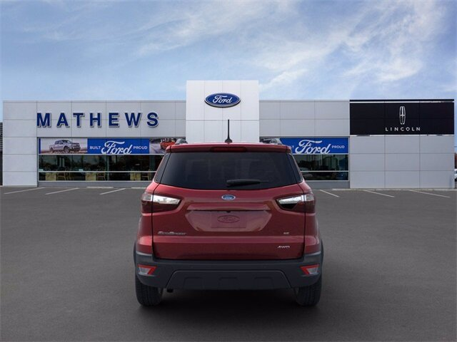 2021 Ford EcoSport SE Automatic 2.0L I4 Ti-VCT GDI Engine 4X4 4 Door SUV
