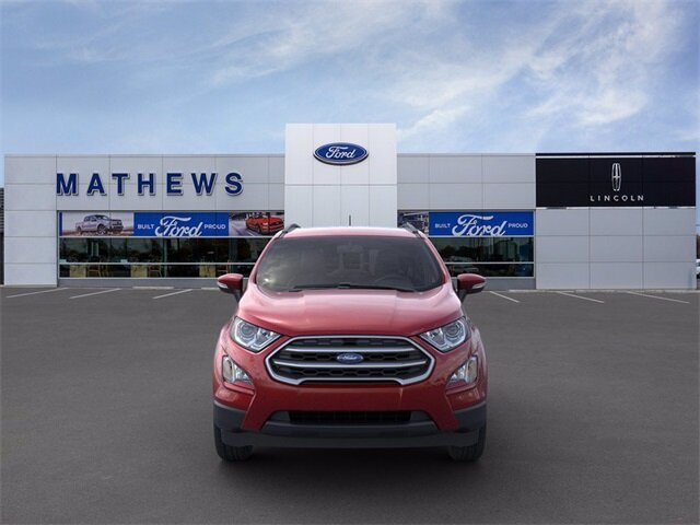 2021 Ford EcoSport SE 4X4 2.0L I4 Ti-VCT GDI Engine SUV 4 Door Automatic