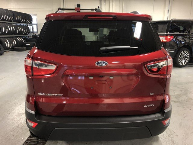 2019 RED Ford EcoSport SE 2.0L 4-Cyl Engine 4 Door Automatic SUV 4X4