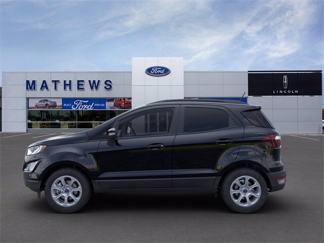 2021 Shadow Black Ford EcoSport SE 4X4 SUV Automatic 4 Door 2.0L I4 Ti-VCT GDI Engine