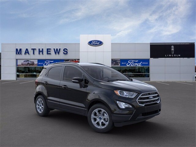 2021 Shadow Black Ford EcoSport SE 4 Door 2.0L I4 Ti-VCT GDI Engine SUV Automatic 4X4