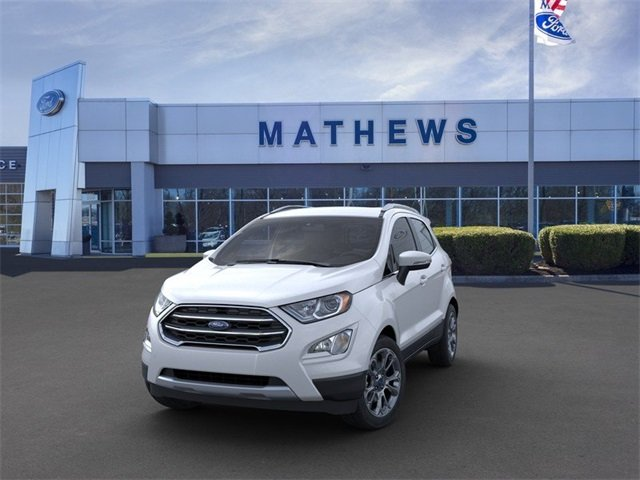 2020 Ford EcoSport Titanium 4 Door Automatic SUV 2.0 L 4-Cylinder Engine