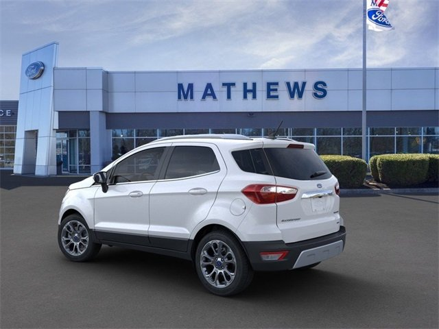 2020 Ford EcoSport Titanium Automatic AWD 2.0 L 4-Cylinder Engine 4 Door