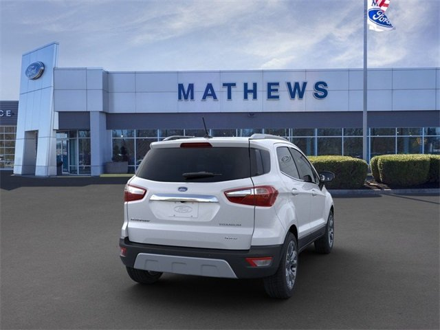 2020 Ford EcoSport Titanium SUV 4 Door 2.0 L 4-Cylinder Engine Automatic AWD