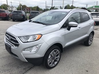 2019 Moondust Silver Metallic Ford EcoSport Titanium 4 Door SUV 4X4 Automatic 2.0L 4-Cyl Engine