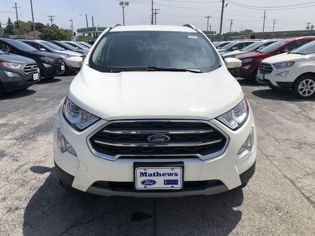 2019 WHITE Ford EcoSport Titanium 4 Door Automatic 2.0L 4-Cyl Engine
