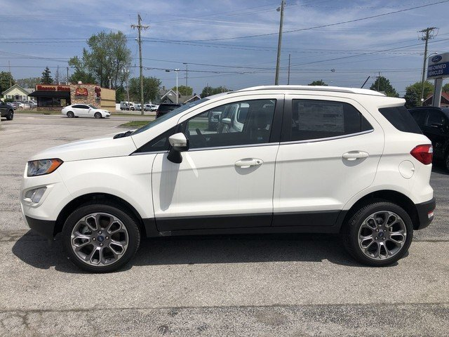 2019 Ford EcoSport Titanium Automatic 4X4 SUV 2.0L 4-Cyl Engine