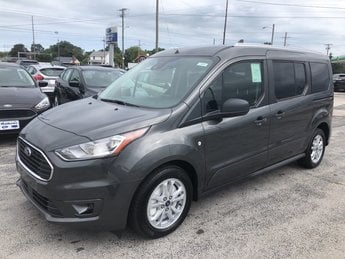 2019 Magnetic Metallic Ford Transit Connect Wagon XLT 2.0L 4-Cyl Engine 4 Door FWD Van Automatic