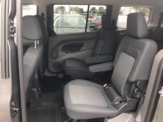 2019 Magnetic Metallic Ford Transit Connect Wagon XLT 4 Door Automatic FWD Van