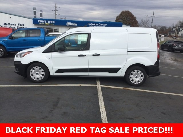 2020 Frozen White Ford Transit Connect Van XL Van 4 Door FWD Automatic 2.0L 4-Cylinder Engine