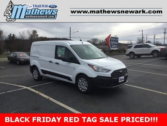 2020 Frozen White Ford Transit Connect Van XL 2.0L 4-Cylinder Engine FWD Automatic Van