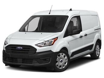 2021 Frozen White Ford Transit Connect XL 4 Door Automatic FWD I4 Engine Van
