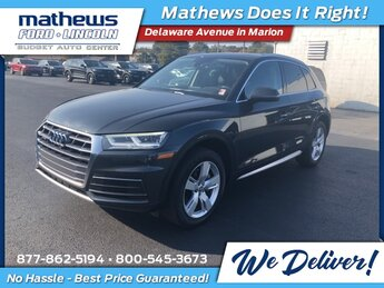 2018 Gray Metallic Audi Q5 2.0T Premium Plus 2.0L TFSI Engine Automatic AWD