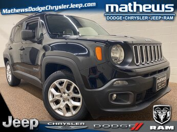 2015 Black Jeep Renegade Latitude SUV 2.4L I4 MultiAir Engine FWD 4 Door Automatic
