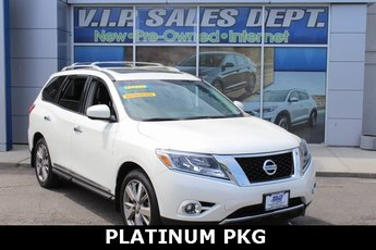 2016 Nissan Pathfinder Platinum 4 Door 3.5L V6 Engine 4X4 Automatic (CVT)
