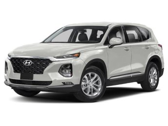 2019 Quartz White Hyundai Santa Fe SEL Plus Automatic AWD 4 Door 2.4L 4-Cylinder Engine SUV