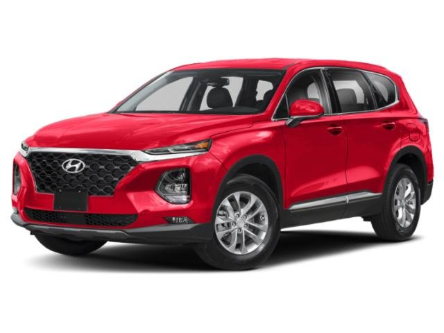 2019 Lava Orange Hyundai Santa Fe SEL 2.4L I4 DGI DOHC 16V LEV3-ULEV70 185hp Engine Automatic AWD SUV 4 Door