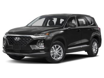 2019 Twilight Black Hyundai Santa Fe SEL Plus AWD SUV 4 Door
